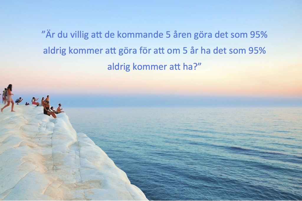 Havet med text