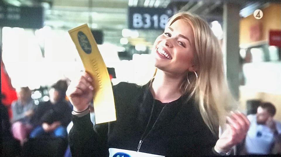 Idol Hannie guldbiljett