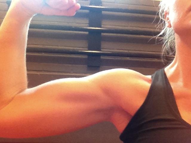 Stress bygga muskler